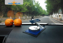 Car ornaments Solar airplane model aircraft Solar Energe Education kit Demonstrate Kit(China)