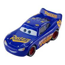 Disney Pixar Cars 2 3 New Fabulous Lighting McQueen Jackson Storm Cruz Ramirez Metal Alloy Car Model Kid Christmas Toy Best Gift(China)