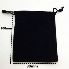 "20pcs/set Dice bag 8.5*10cm(3.35*4"") Black Velvet Pouch/Jewelry Bag,Christmas Wedding Gift Bags & Pouches Board Game"