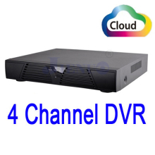 freeshipping 4 channel full d1 rs485 ptz phone monitor network motion detection security standalone cctv dvr recorder(China)