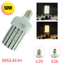12 pack 50w led corn bulb e39 to replace 175w metal halide mercury vapor hid barn security street light(China)