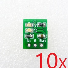 10pcs 1A mini Li Lithium Battery Charger Module Board for Arduino UNO MEGA DUE Breadboard PCB 18650 solar panel mobile power(China)