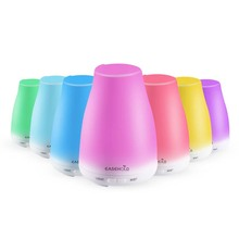 EASEHOLD Ultrasonic Humidifier Aromatherapy Oil Diffuser Color LED Lights essential oil diffuser Waterless Auto Shut-off