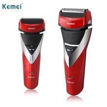 kemei hot sale men electric shaver electric razor shaving machine barber eu plug km8101