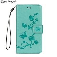 For iPhone X Case Imprint Butterfly Lotus Magnetic Wallet Leather Stand Cell Phone Flip Cover Case with Lanyard for iPhone X