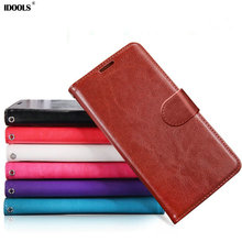 IDOOLS Luxury Retro Leather Mobile Phone Case For iPhone 6 6s 6 Plus Vintage Flip Cover Wallet  Photo Frame With Card Holder