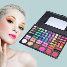 Pro Cosmetic set 78 Colors Makeup Eyeshadow pallette Highlighting Blusher Concealer Eye Shadow Make up set With Mirror