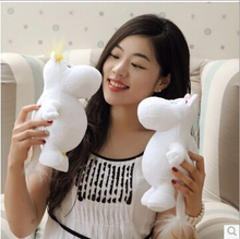 1pcs Genuine 23cm Moomin Hippo Plush Toy Stuffed Doll little fertilizer valentine Park Spring bom