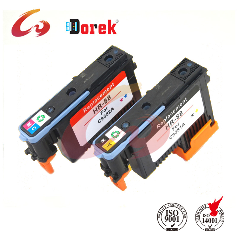 2pcs /lot Free shipping!88 Print head, 88 Print head for HP 88(C9381a ) for HP L7580 7590 K5400 K550 printer<br><br>Aliexpress