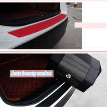 2017 new Car Styling Car trunk bumper for opel astra ford ranger nissan tiida nissan note alfa romeo 147 peugeot 208 Accessories(China)