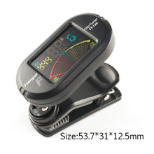 Color Screen Guitar Tuner Digital Tuner With Clip On Design For Guitar FT-12C Hot Sale