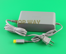 3pcs/lot US Plug AC Power Supply Charger Adapter Charger for Nintendo for Wii U WIIU 100-240V AC 15V 5A Cable Cord Adapter