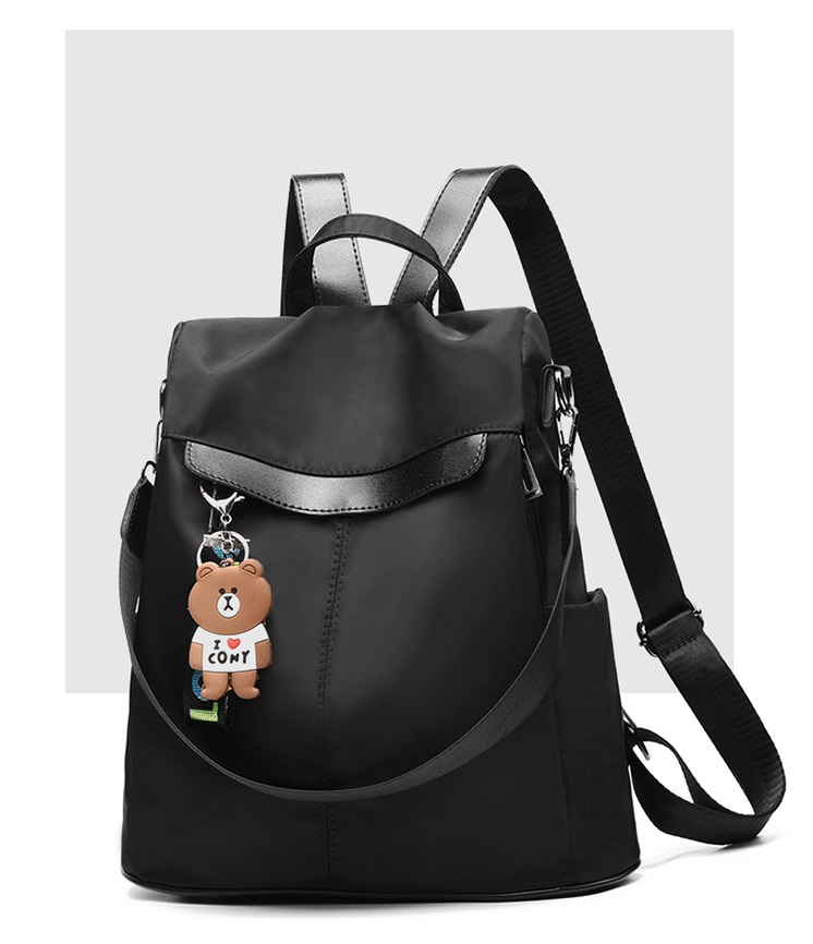Large Capacity Backpack Women Preppy School Bags for Teenagers Female Oxford Travel Bags Girls Bear Pendant Backpack Mochilas 13 Online shopping Bangladesh