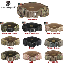 Emersongear Molle Waist Belt Combat Military Equipment Genuine Multicam Emerson Men Airsoft Hunting Padded Multicam Khaki EM9086(China)