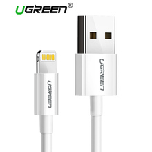 Ugreen USB Cable for iPhone 8 2.4A MFi Lightning to USB Cable Fast Charging Data Cable for iPhone 7 6 5s iPad Mobile Phone Cable(China)