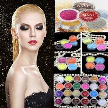 Cosmetic Eyeshadow Makeup 20 Colors Eye Shadow Face Eye Glitter Powder Pigment Mineral Shimmer Shadows Highlighters Brightens