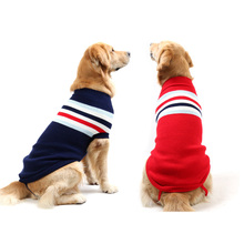 Buy Stripe Outfit Pet Dog Hoodies Puppy Clothing Knit Sweater Warm Winter Dogs Clothes Sweater Small Medium Large Dogs 8 Sizes for $3.16 in AliExpress store