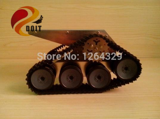 Official DOIT Tank Car Chassis Crawler Intelligent Diy Robot Electronic Toy Development Kit Tractor Toy<br><br>Aliexpress
