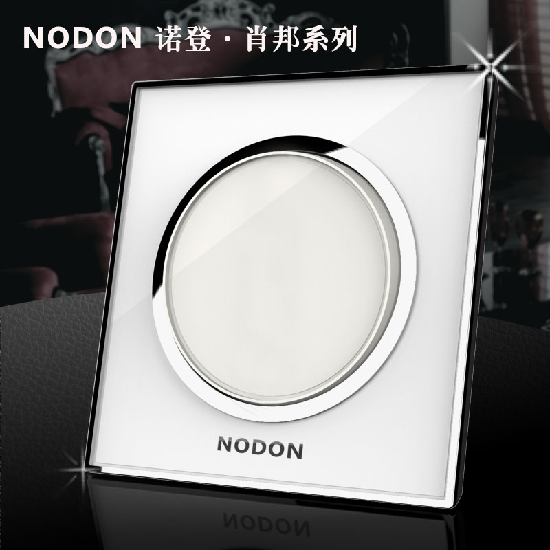 Noden Luxury acrylic glass waterproof key wall light switch, 1 way 1 way electrical push button switch, Wholesaler Free shipping<br><br>Aliexpress