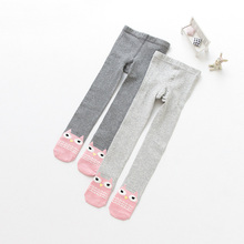 2017 Autumn Kids Fashion Cow Striped Pantyhose Child Pantyhose Girls Pantyhose(China)