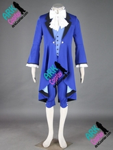 Ciel Phantomhive Cosplay Costume Black Butler Cosplay Blue Mens Black Butler Cosplay Costume(China)