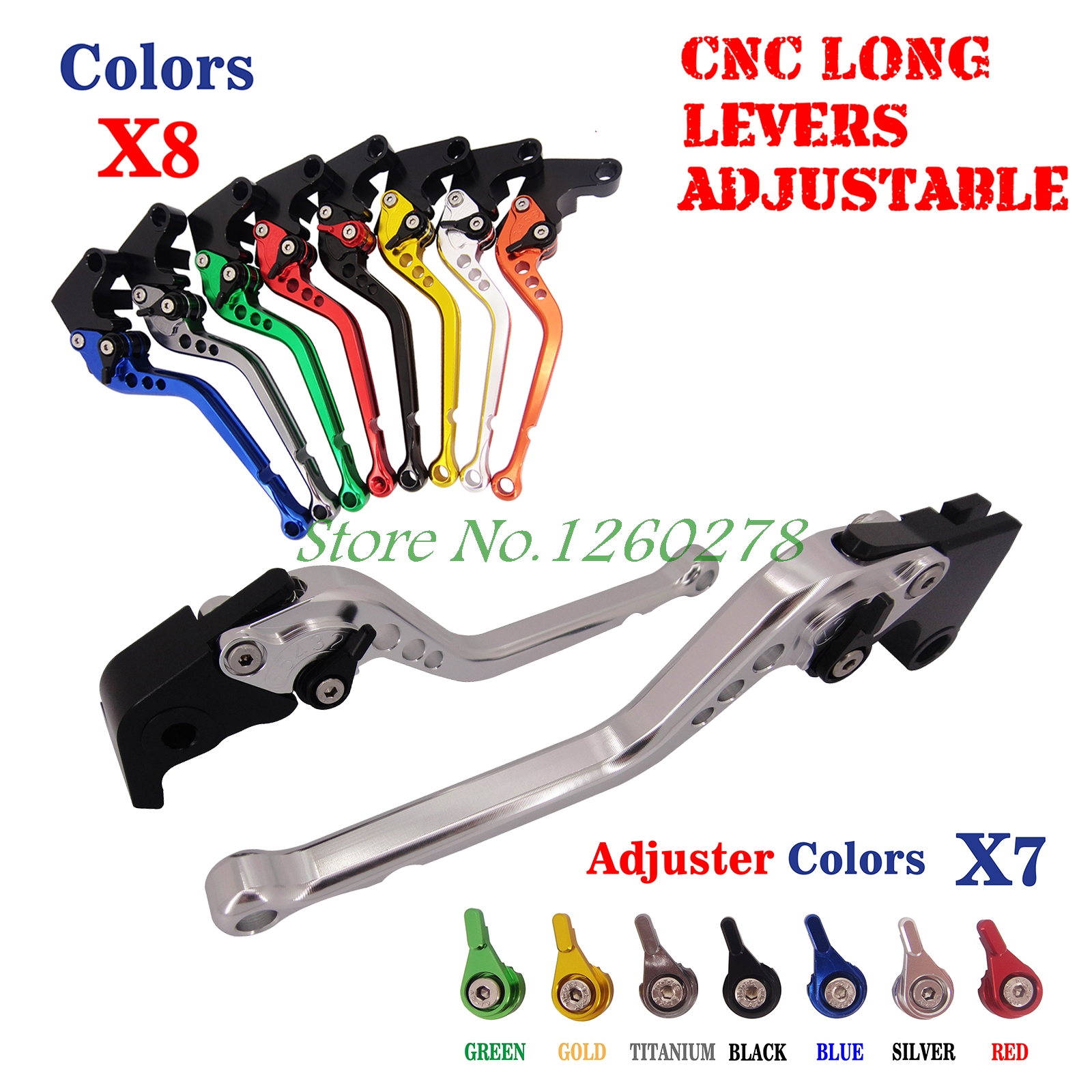 For Yamaha YZF R125 Adjustable 2008-2013 WR125X WR125R 2009-2014 CNC Long Racing Brake Clutch Levers (6.8 inch )<br><br>Aliexpress