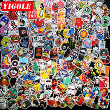 50-100pcs Sticker Do Not Repeat 7 Style Select PVC Anime Laptop Doodle Stickers For Kids