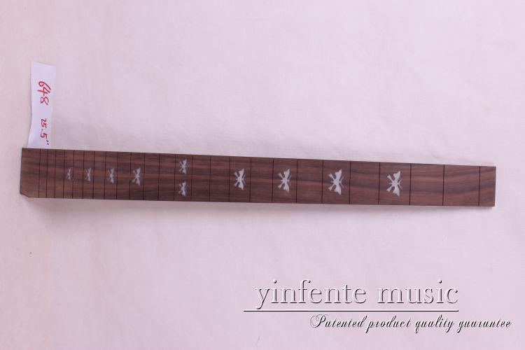 new  high Quality  1 x  25.5   Guitar Fretboard electric guitar rose  Wood Fretboard Parts 9  #  inlay<br>