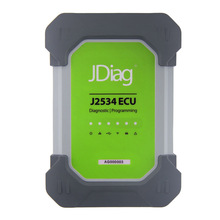 Latest JDiag Elite II Scanner with Full Adapters Compatible with Original J2534 Diagnostic and ECU Programmer Softwares