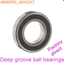 40mm Diameter Deep groove ball bearings 6808 2RS 40mmX52mmX7mm Double rubber sealing cover ABEC-1 CNC,Motors,Machinery,AUTO