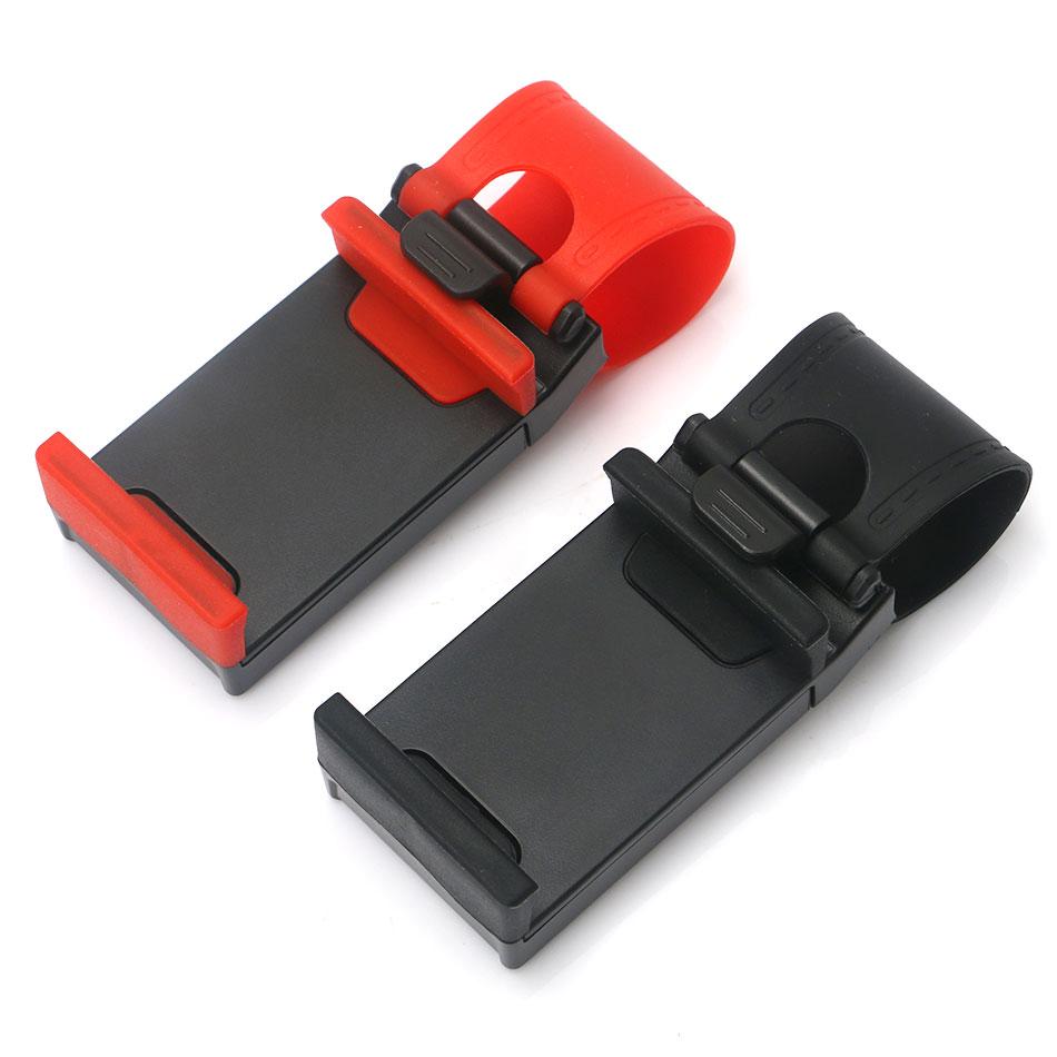 YeeSite Universal Car Steering Wheel Clip Mount Holder for iPhone 8 7 7Plus 6 6s Samsung Xiaomi Huawei Mobile Phone GPS 7