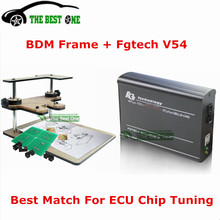 Full Set BDM Frame Adapters + Fgtech Galletto 4 Master V54 OBD2 ECU Chip Tuning Tool Support BDM Function DHL Free Shipping