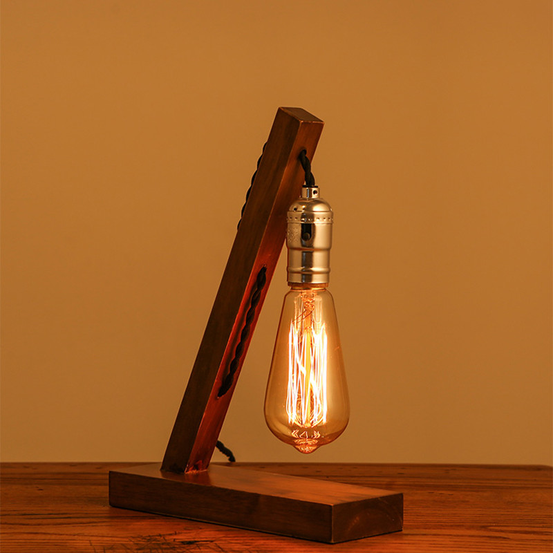 Wood Table Lamps 15