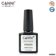 CANNI Brand Professional Nail Art UV Varnish 7.3 ml Good Quality Primer No Need Lamp Keep Nail More longer Nail Base