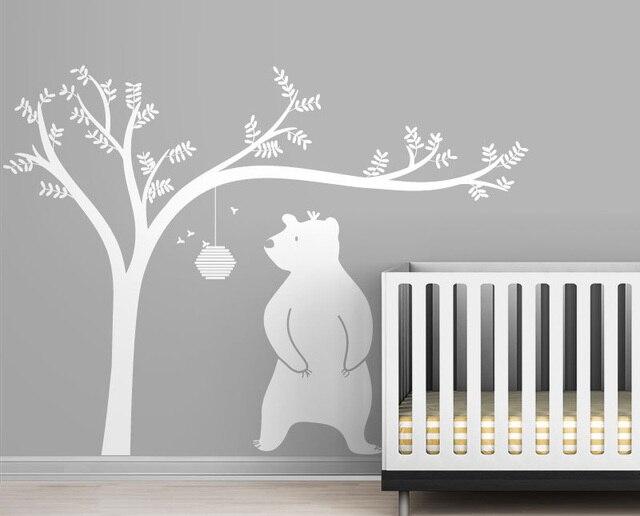Stickers Murali Albero Bambini - Wall Murals You\'ll Love
