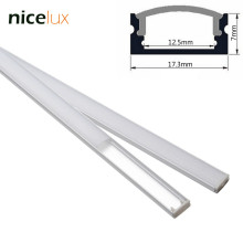 5set 3.3ft 1m/set U-Shape LED Strip Aluminum Channel Profile for 8mm 10mm 12mm 3528 5050 LED Bar Light Housing with Cover(China)