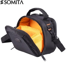 SOMITA 2017 Digital DSLR Camera Bag Waterproof Photo Brand Photography Camera Video Bag Small Travel Camera Messenger Bag