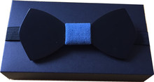 Hot Sale Wooden Bow Tie Butterfly Cravat Bow Tie Mens Solid Color Wedding Bow Ties For Men