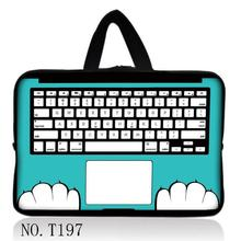 "Keyboard Hot Personality Computer Bag For 12"",13"",14"" ,15"" &17"" Inch Tablet PC Cover Notbook Laptop Bag Cases Notebook Sleeve"