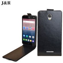 J&R Flip Leather Case For ZTE Blade A310 Vertical Cover Case For ZTE A310 5.0'' inch mobile phone case(China)