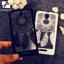 A5000 Covers Cases For Lenovo A5000 5 Inch A 5000 Cases Plumage Retro Women Plastic Protective Shield Durable Shell Back Cover