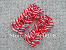 Hot sale baby satin leg warmers red and white colors for baby kids of tights for children clothing KP-SL026