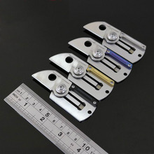 Coin C188 DOG TAG mini folding knife D2 steel blade outdoor hunting necklace key chain EDC tools camping survival pocket Knives(China)