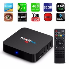4GB RAM 32GB ROM MAX MXR PRO Android 7.1 Smart TV Box RK3328 Quad Core 2.4GHz WiFi VP9 H.265 UHD MXRpro 4K Player
