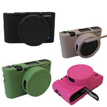 Soft Silicone Rubber Camera Protective Body Cover Case Skin Camera case bag Lens bag For Sony RX100 III IV RX100 V