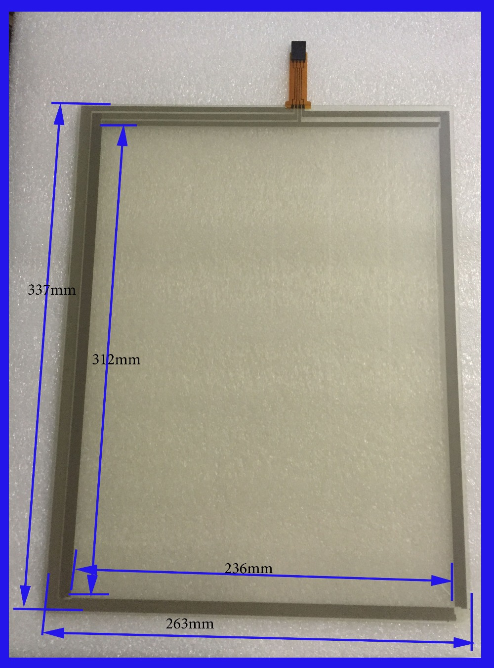 ZhiYuSun 337mm*263mm 17 Inch Touch Screen panels 4 wire resistive USB touch panel overlay kit  Free Shipping<br>