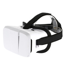 Head-Mounted Virtual Reality Glasses Headset 3D VR Glasses 3D Movie Game Universal All 3.5 to 6.0 Inches Android iOS Phones(China)