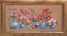 Fishxx Cross-Stitch Kits B840 flowers All sorts of color daffodils paintings on needlework Set Embroidery 100% Egyptian cotton