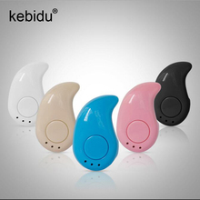 Kebidu Sport Wireless Mini Bluetooth Earphone S530 Stealth Earphone Phone Headset Handfree  for All Phone