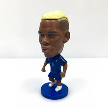 "Soccer 15# POGBA France team 2.5"" Toy Doll Figure 2016 footballer figuer fans gift christmas"